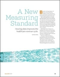 big data in healthcare revenue